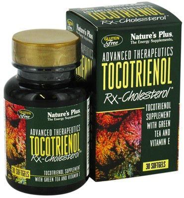 Nature's Plus Tocotrienol Rx-Cholesterol 30 cápsulas