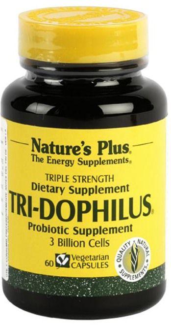 Nature's Plus Tri-Dophilus 60 cápsulas