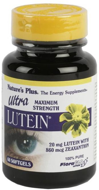 Nature's Plus Ultra Lutein 60 cápsulas