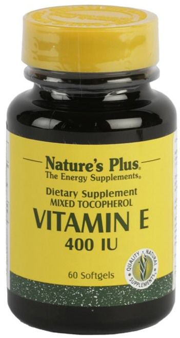 Nature's Plus Vitamina E 400UI  60 cápsulas