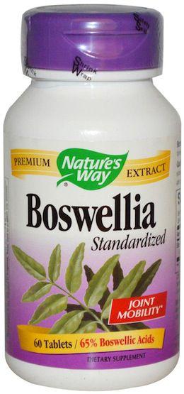 Nature's Way Boswellia Estandarizado 60 comprimidos