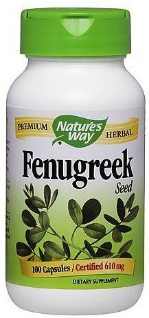 Nature's Way Fenogreco 100 cápsulas