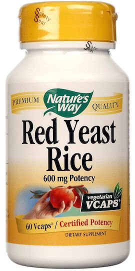 Nature's Way Red Yeast Rice 60 cápsulas