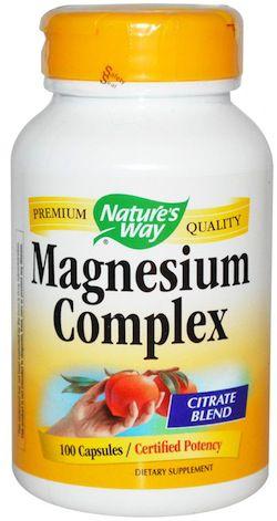 Nature's Way Magnesio 100 cápsulas