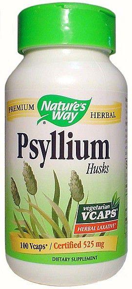 Nature's Way Psyllium semillas 100 cápsulas