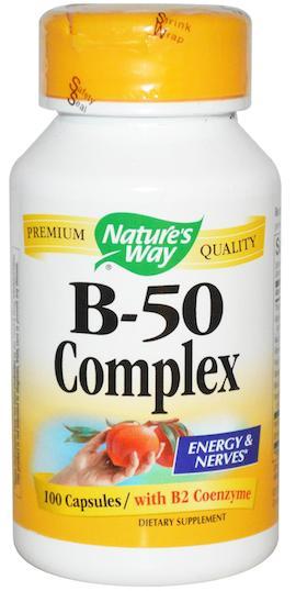 Nature's Way Vitamina B-50 complex 60 cápsulas