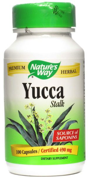 Nature's Way Yuca tallo 100 cápsulas