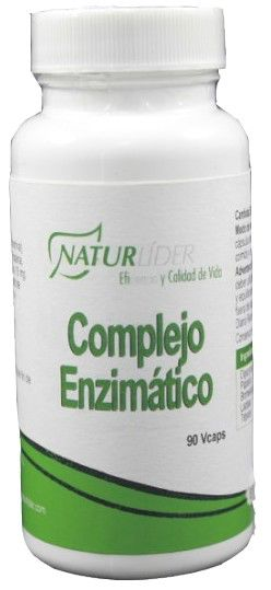 Naturlider Complejo Enzimático 60 cápsulas