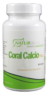 Naturlider Coral Calcio Plus 60 cápsulas