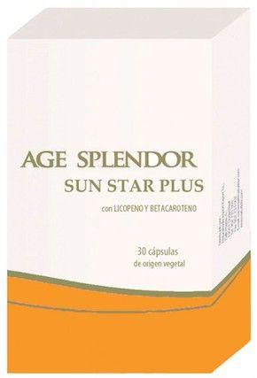 Naturlider Age Splendor Sun Star Plus 30 cápsulas