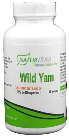 Naturlider Wild Yam Estandarizado 60 cápsulas
