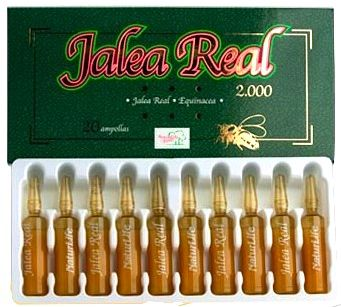 Naturlife Jalea Real y Echinacea 20 ampollas