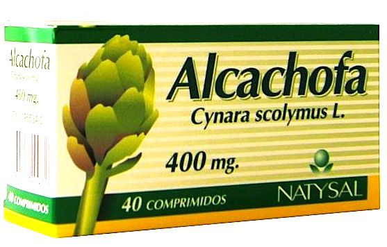 Natysal Alcachofa 40 comprimidos