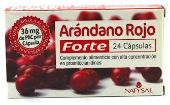 Natysal Arándano Rojo Forte 24 cápsulas