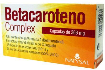 Natysal Betacaroteno 12 cápsulas