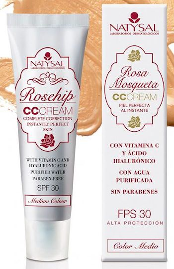 Natysal CC Cream Rosa Mosqueta FPS 30 50ml