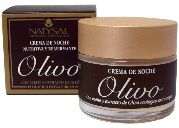 Natysal Crema Olivo Noche 50ml