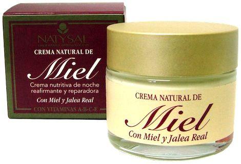 Natysal Crema Facial de Miel 50ml