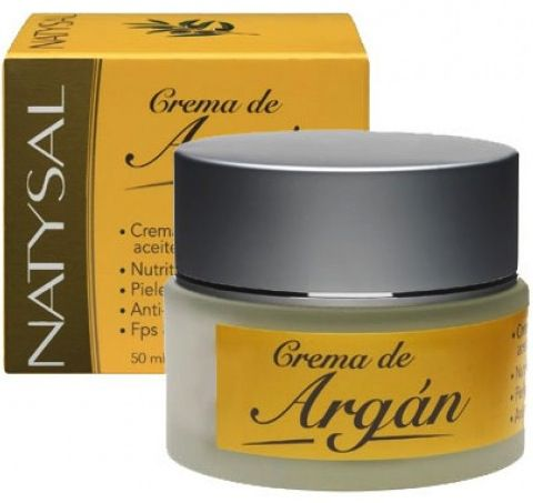 Natysal Crema Natural de Argán FPS8 50ml