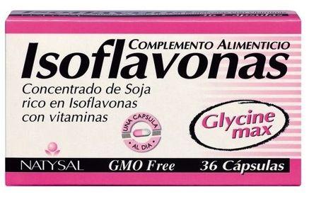Natysal Isoflavonas 36 cápsulas