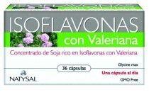 Natysal Isoflavonas con Valeriana 36 cápsulas