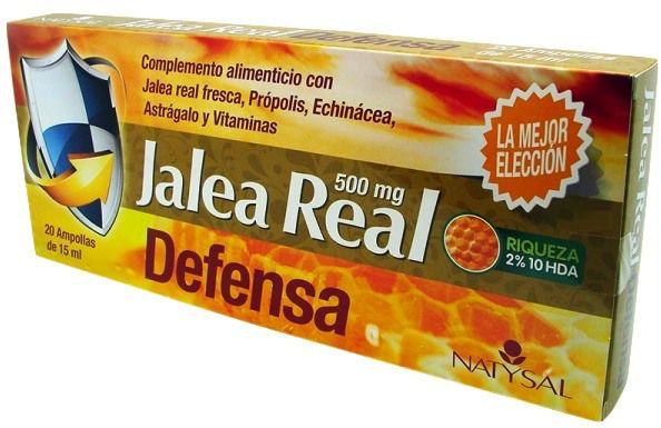 Natysal Jalea Defensa 20 ampollas