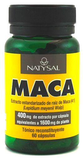 Natysal Maca 60 cápsulas