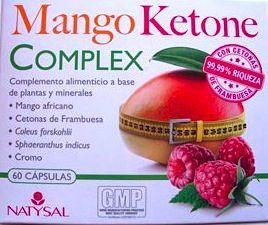 Natysal Mango Ketone Complex 60 cápsulas