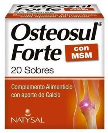 Natysal Osteosul Forte 20 sobres