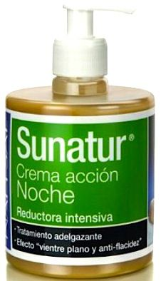 Natysal Sunatur crema reductora noche 500ml