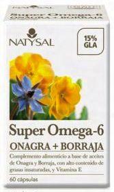 Natysal Super Omega 6 60 perlas