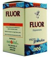 Neo Fluor Microgranulos 50 cápsulas