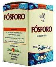 Neo Fósforo Microgranulos 50 cápsulas