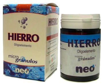 Neo Hierro Microgranulos 50 cápsulas