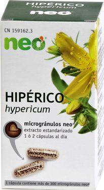 Neo Hipérico Microgranulos 45 cápsulas