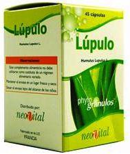 Neo Lúpulo Microgranulos 45 cápsulas