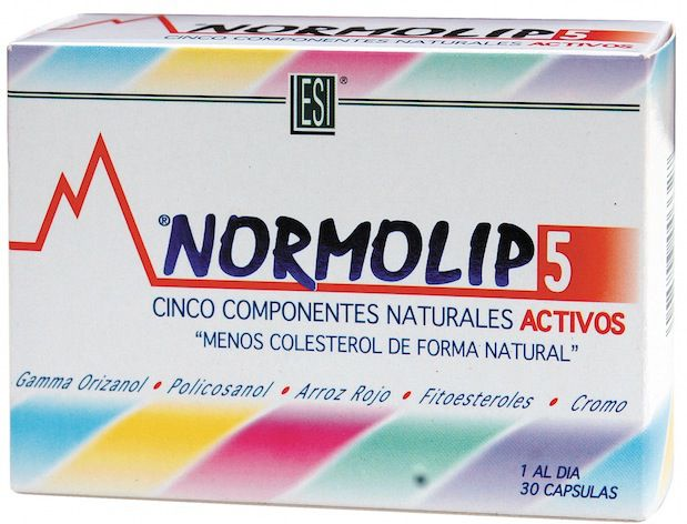 ESI Normolip 5 30 cápsulas