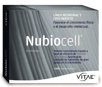 Nubiocell Chlorella 10 ampollas