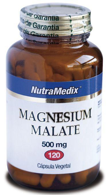 NutraMedix Malato de Magnesio 120 cápsulas