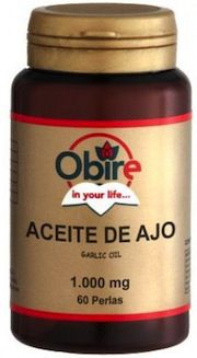 Obire aceite de ajo 1000mg 60 perlas