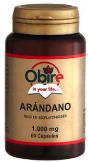 Obire Arandano 1000mg 60 capsulas