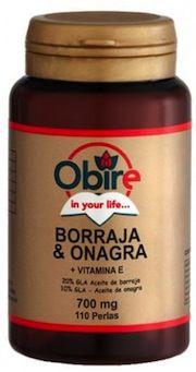 Obire Borraja y Onagra 700mg 110 perlas