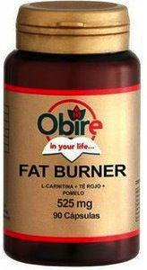 Obire Fat Burner (L-Carnitina,Té Rojo y Pomelo) 90 cápsulas