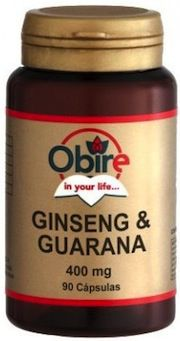 Obire Ginseng y Guaraná 90 cápsulas