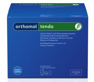 Orthomol Tendo 15 sobres granulados y cápsulas