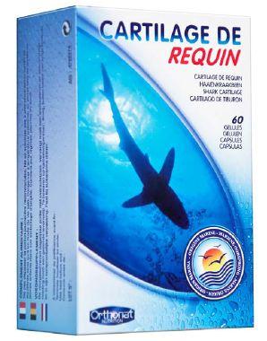 Orthonat Cartilago de Requin-Tiburón 60 cápsulas