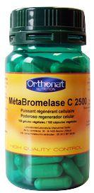 Orthonat Metabromelasa 100 cápsulas