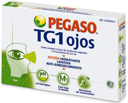 Pegaso TG1 Ojos 10 monodosis