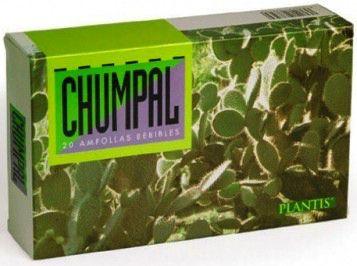 Plantis Chumpal Zumo de Nopal 20 ampollas