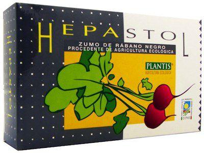 Plantis Hepastol Rábano Negro 20 ampollas